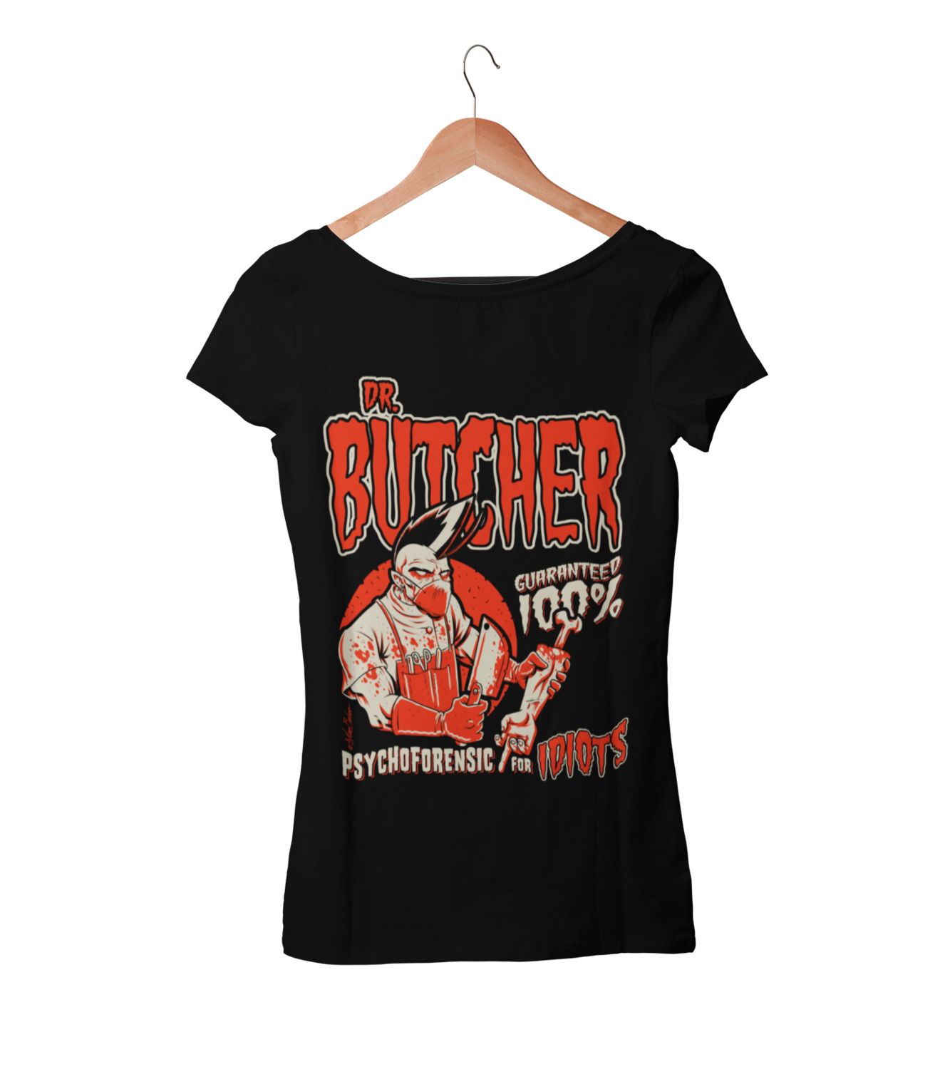 DR. BUTCHER T-SHIRT WOMAN by NANO BARBERO