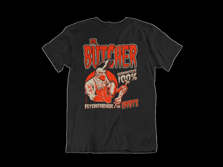 DR. BUTCHER T-SHIRT MAN BY NANO BARBERO