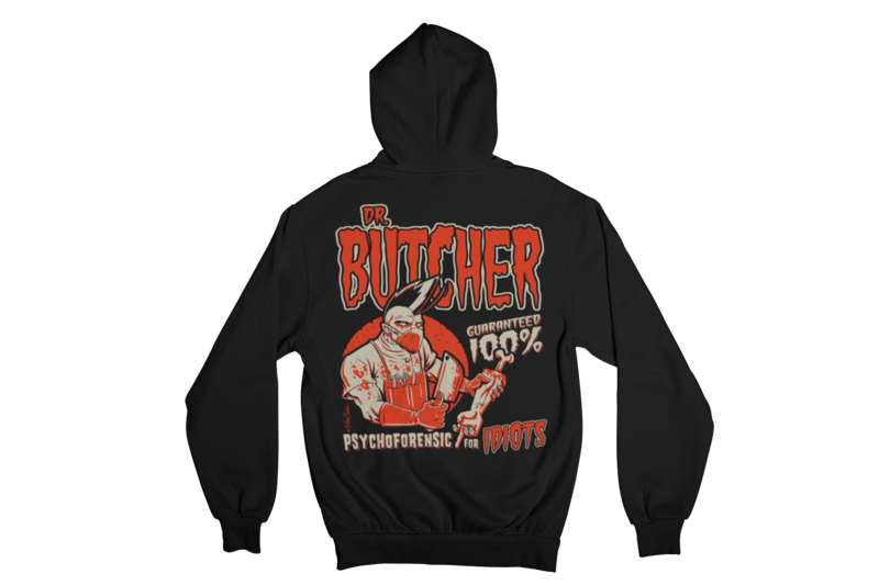 DR. BUTCHER HOODIE ZIP for MEN by NANO BARBERO
