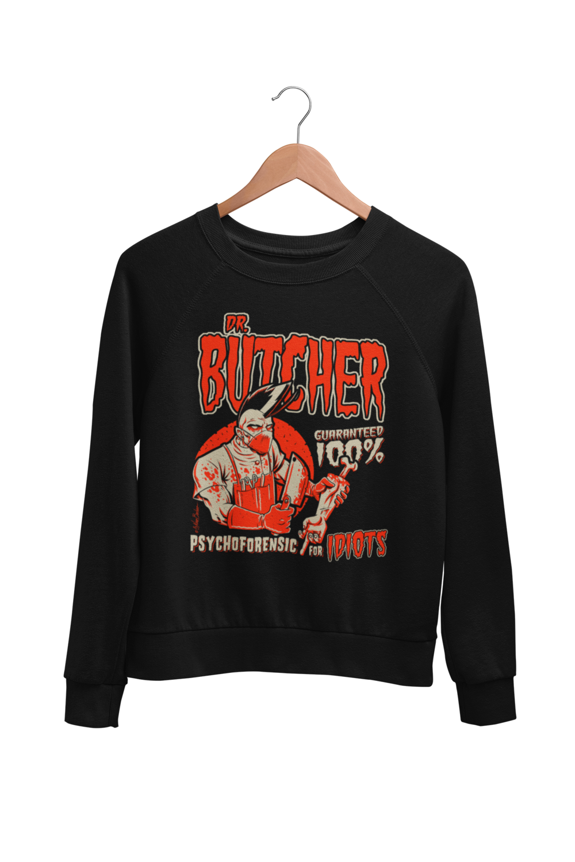 DR. BUTCHER SWEATSHIRT UNISEX BY NANO BARBERO