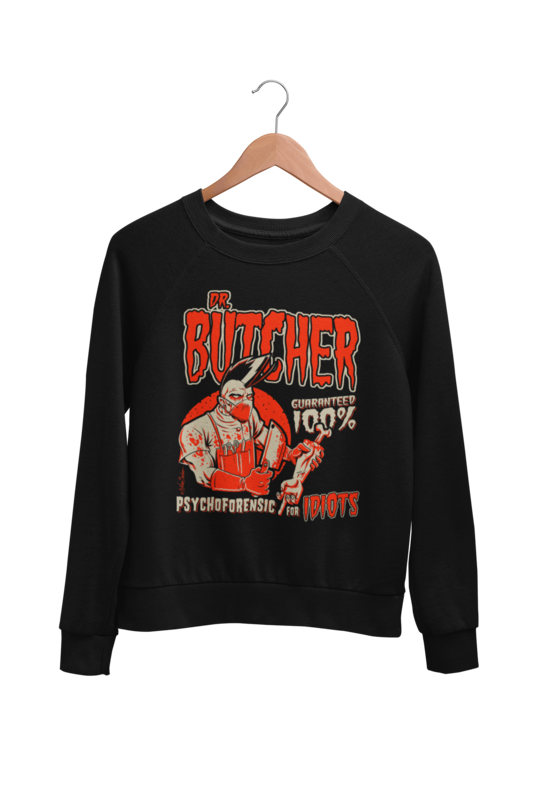 DR. BUTCHER SWEATSHIRT UNISEX BY NANO BARBERO