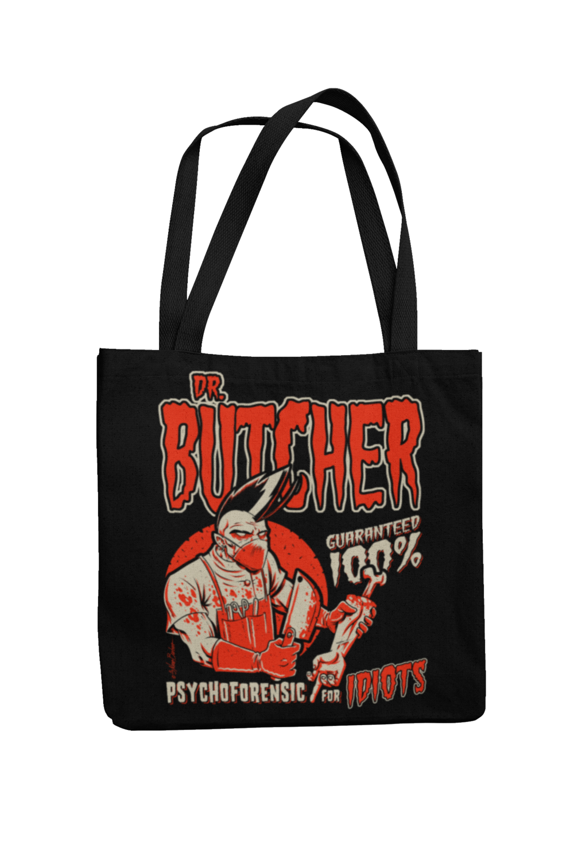 Cotton Bag Dr. Butcher design by NANO BARBERO