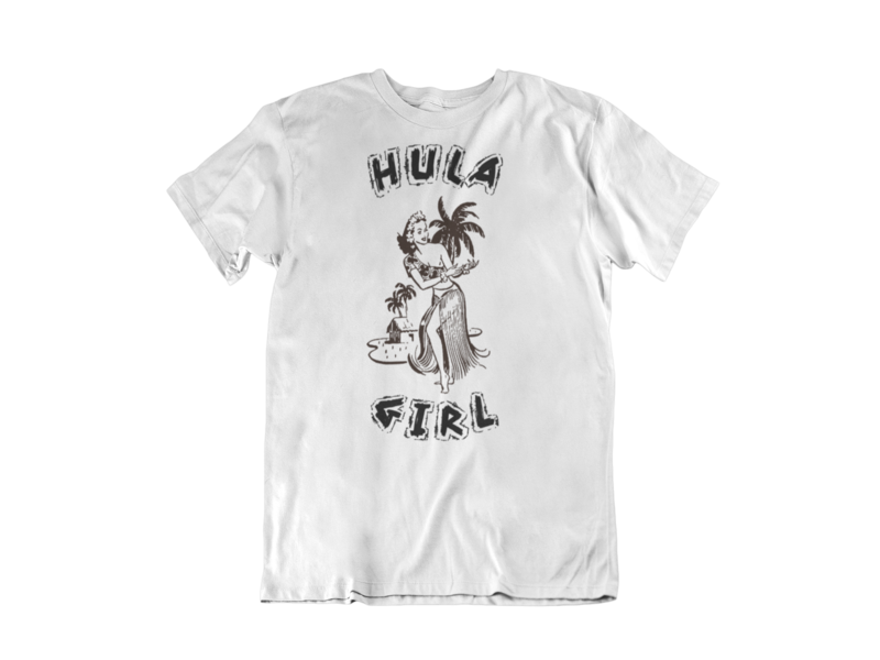 HULA GIRL T-SHIRT MAN