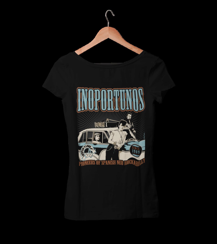 """INOPORTUNOS """"30th Anniversay"""" tshirt for WOMEN"""