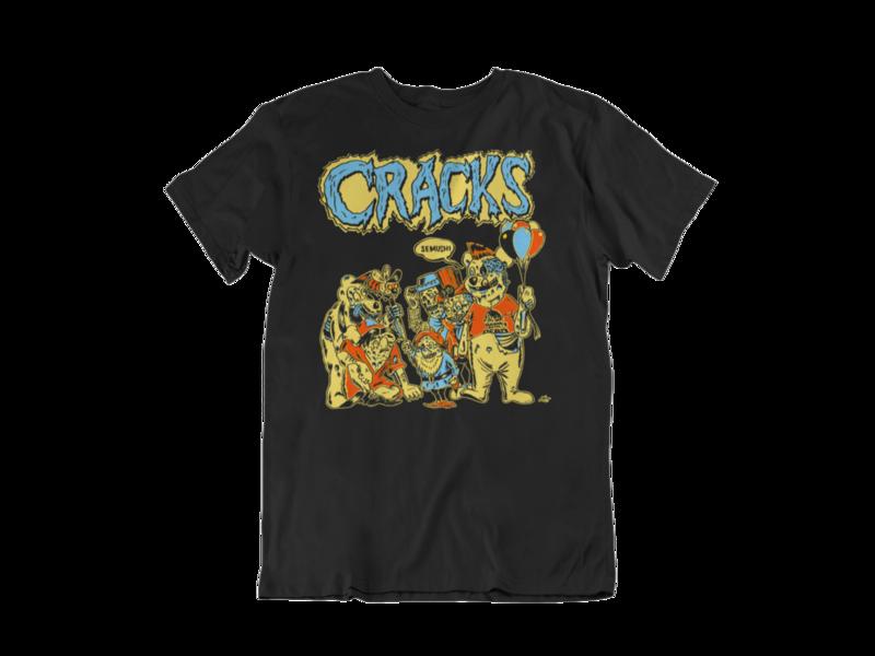 "CRACKS ""Semushi"" tshirt for MEN"