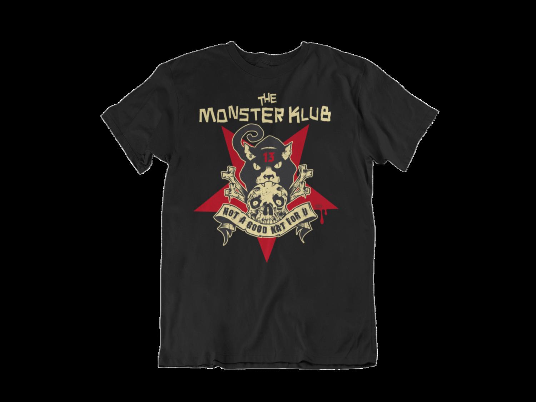 """MONSTER KLUB """"Not a Good Kat for u"""" tshirt for MEN"""