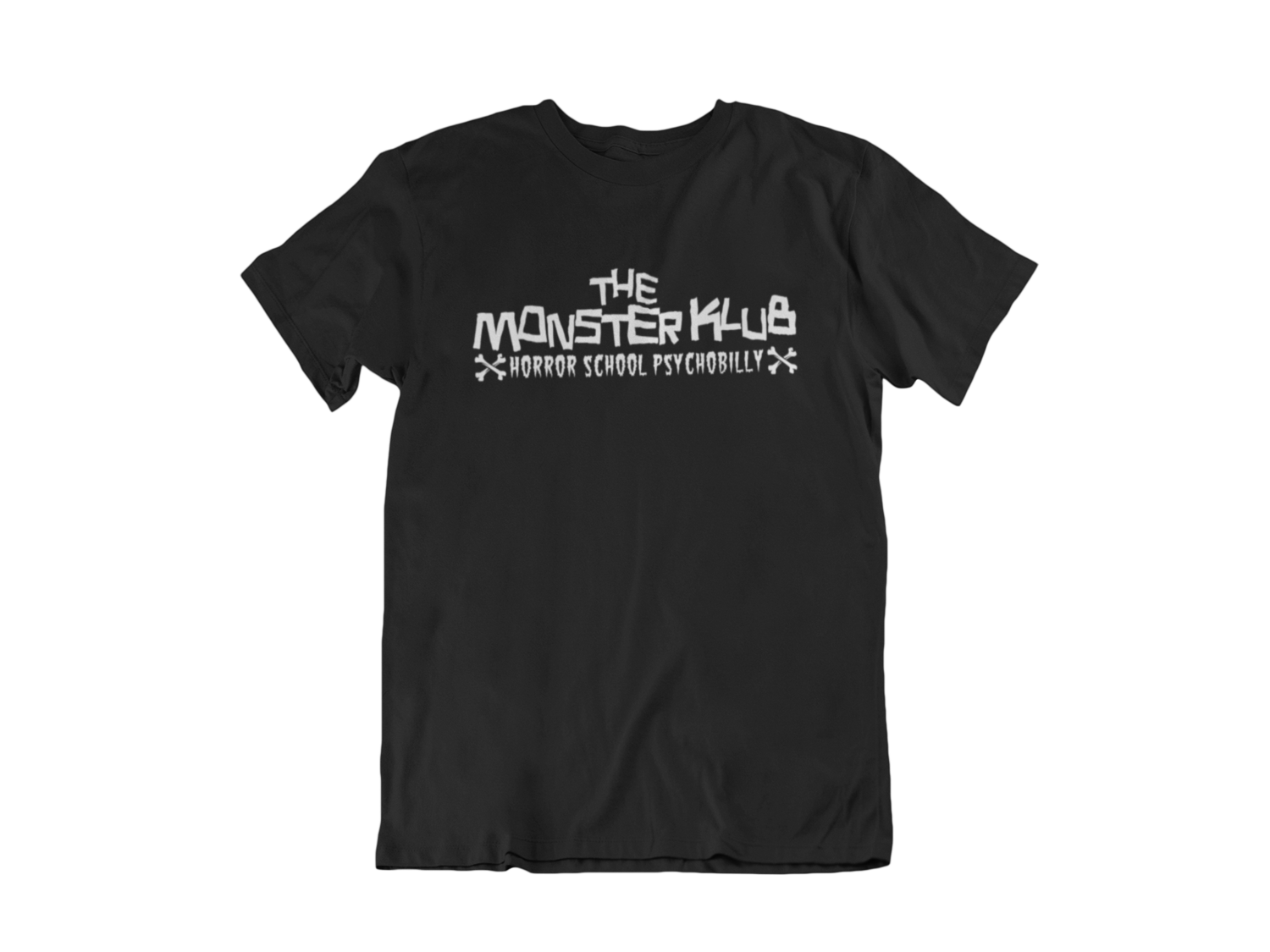 "MONSTER KLUB ""Horror School Psychobilly"" tshirt for MEN"