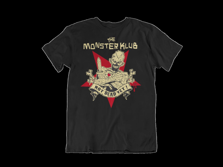 """MONSTER KLUB """"Not dead yet"""" tshirt for MEN"""