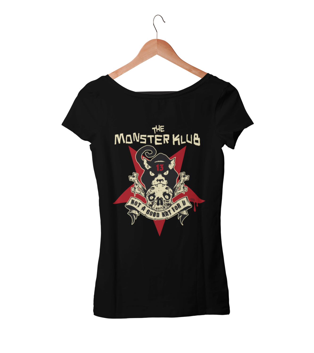 "MONSTER KLUB ""Not dead yet""  tshirt for WOMEN"