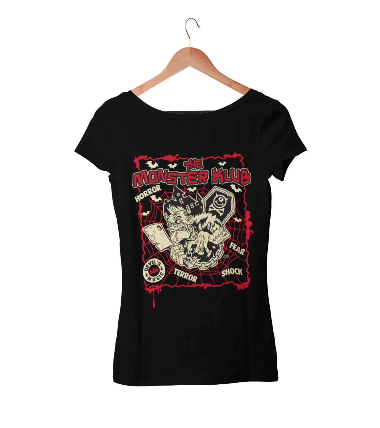 "MONSTER KLUB ""Devil´s 666 music""  tshirt for WOMEN"