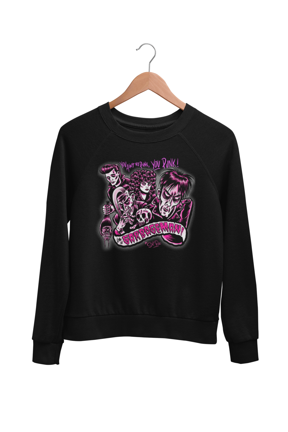 GARBAGE MAN SWEATSHIRT UNISEX by BY SOL RAC