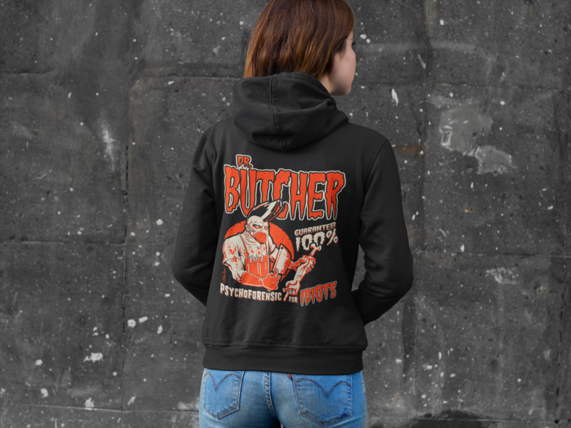 DR. BUTCHER HOODIE ZIP for WOMEN by NANO BARBERO