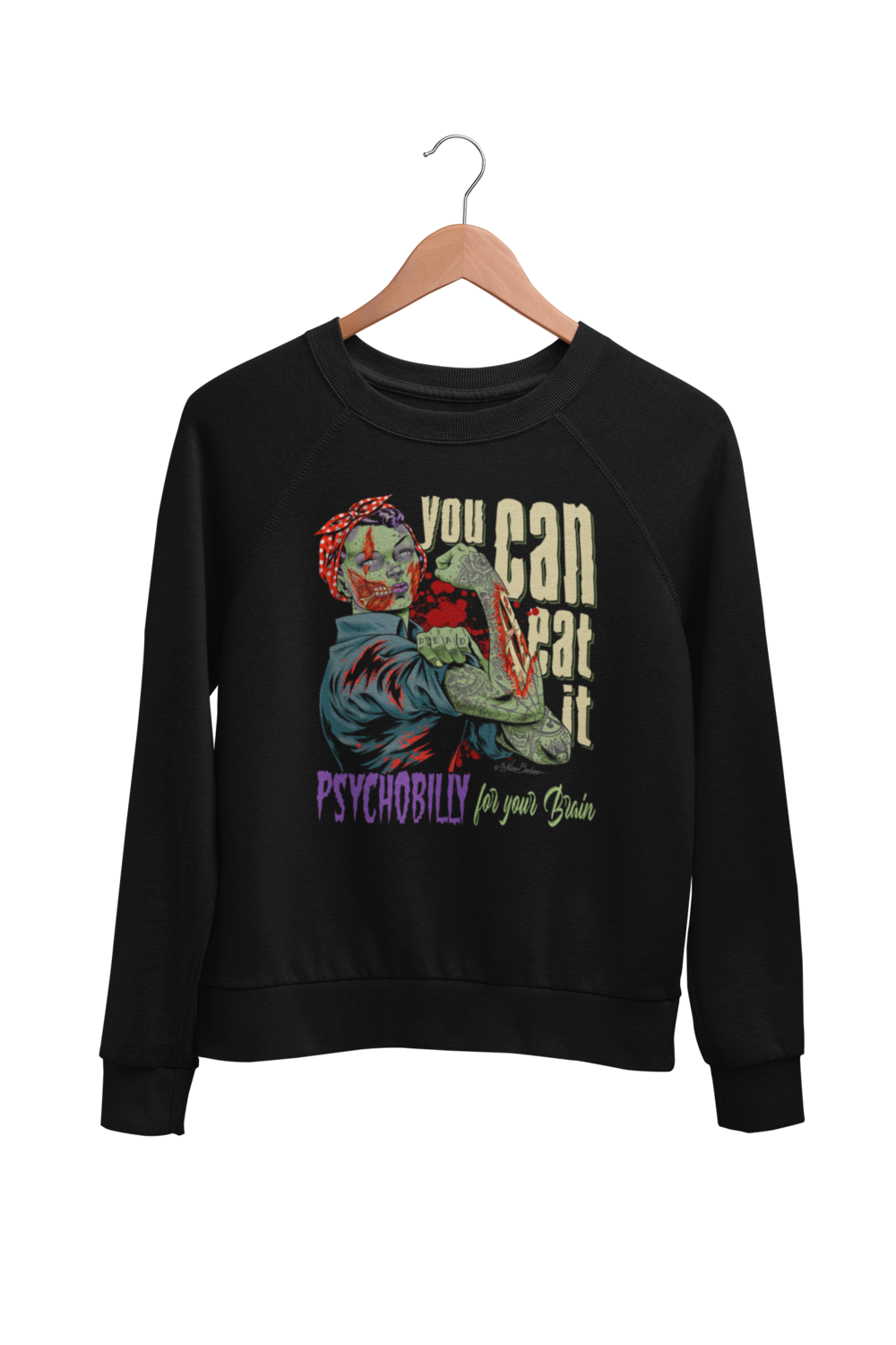 YOU CAN EAT IT SWEATSHIRT UNISEX BY NANO BARBERO
