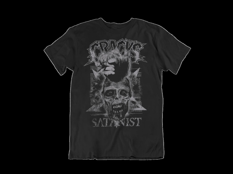 """CRACKS """"Satanist"""" tshirt for MEN"""