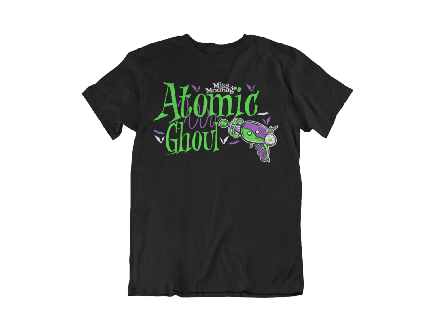 ATOMIC GHOUL by MISS MOONAGE tshirt for MEN