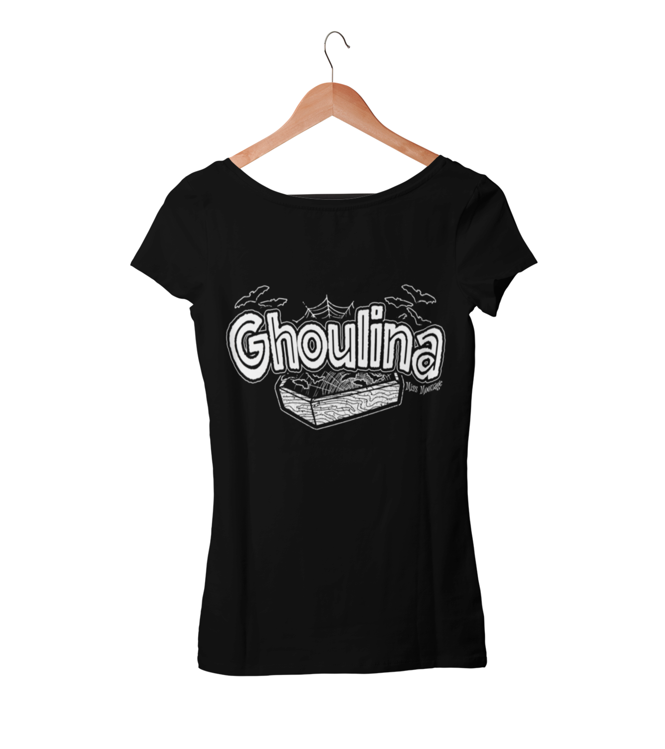 GHOULINA by MISS MOONAGE tshirt for WOMEN