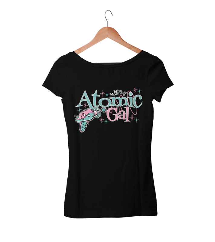 ATOMIC GAL by MISS MOONAGE tshirt for WOMEN