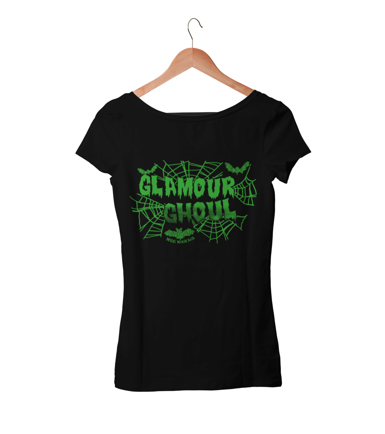 GLAMOUR GHOUL by MISS MOONAGE tshirt for WOMEN