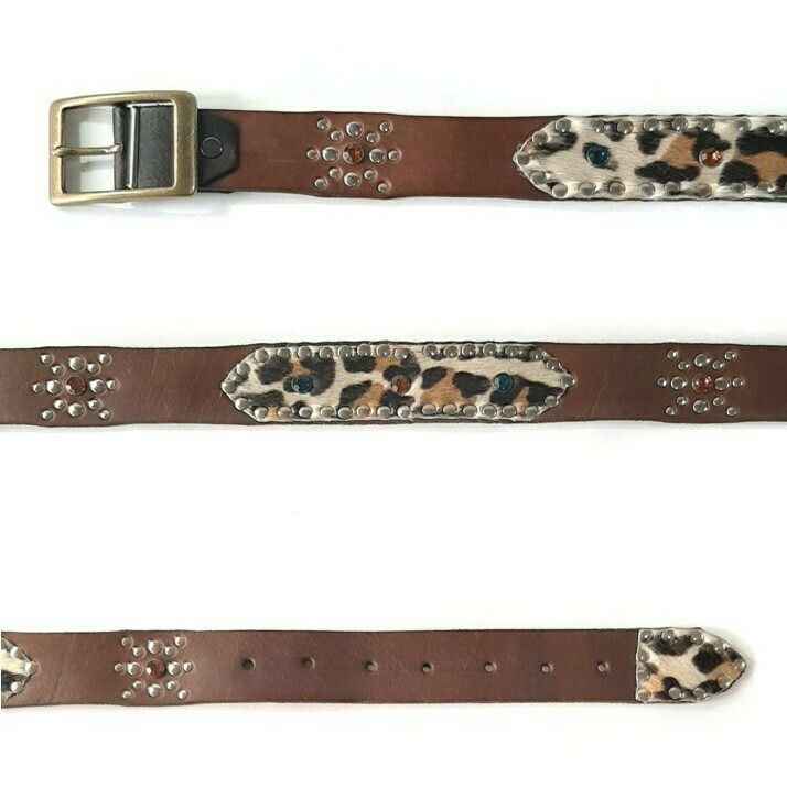 "THOUSAND BELT ""LEOPARD "" Large"
