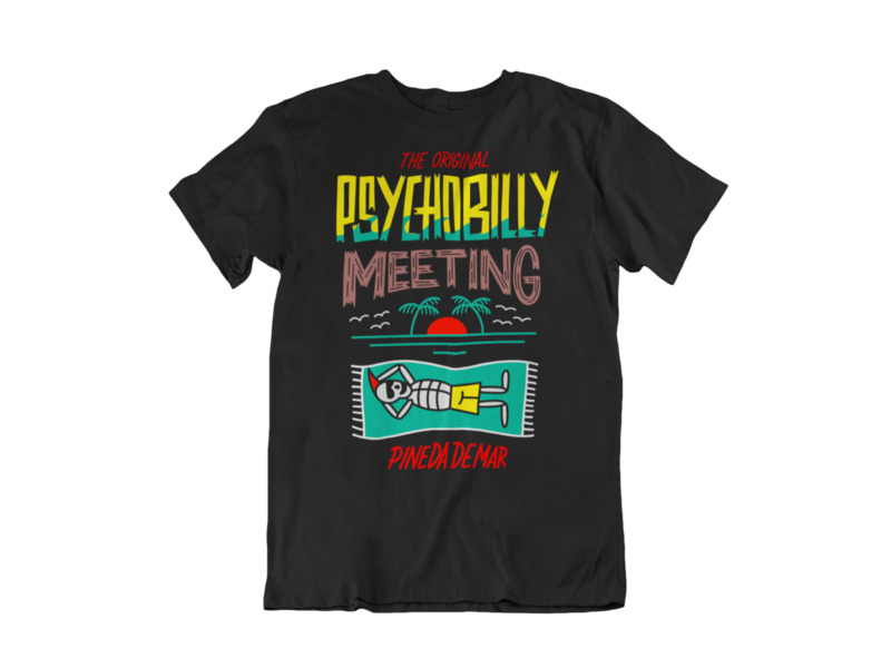 PSYCHOBILLY MEETING T-SHIRT MAN BY NORTEONE