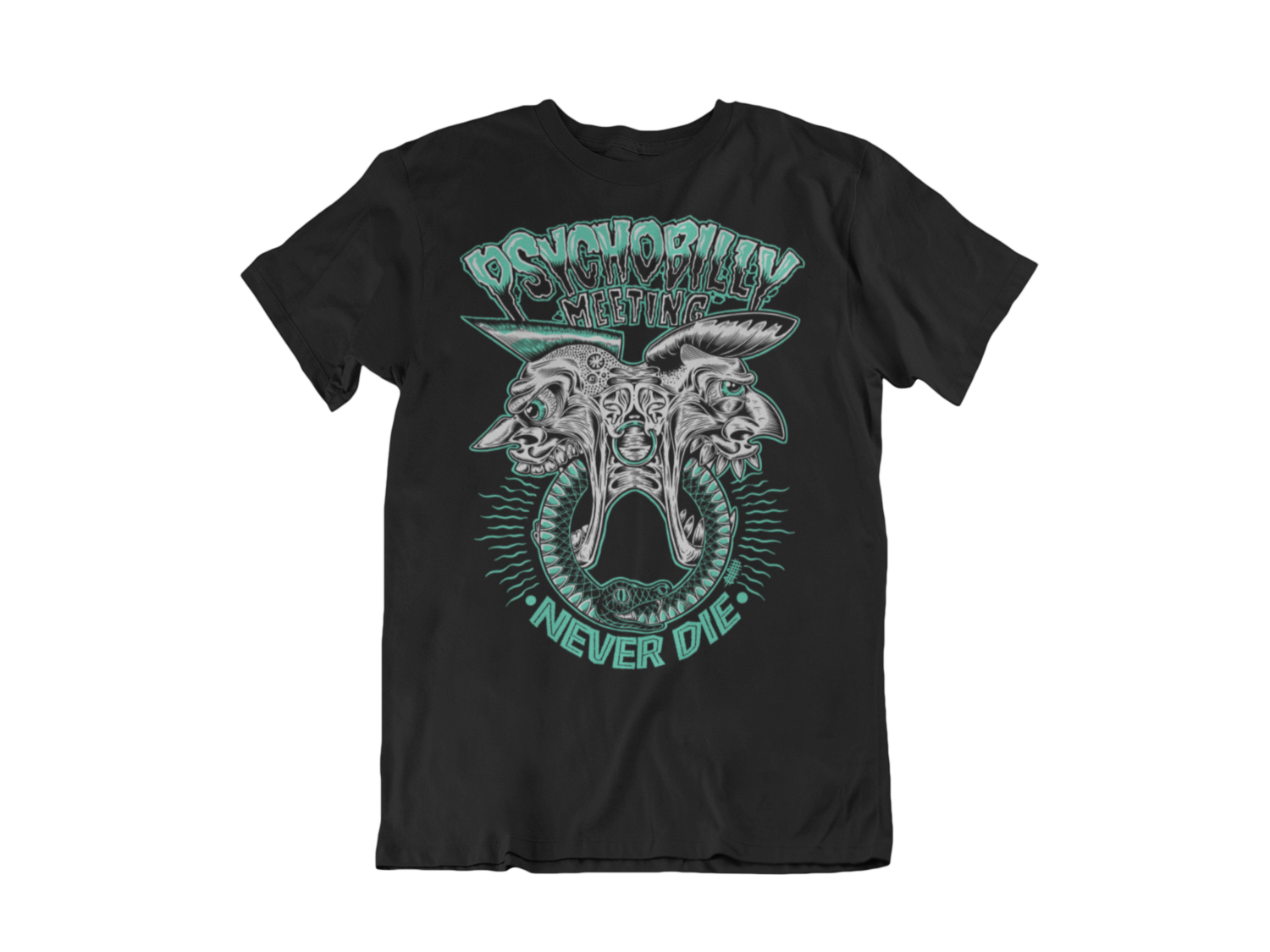 PSYCHOBILLY MEETING T-SHIRT MAN BY OLAFH