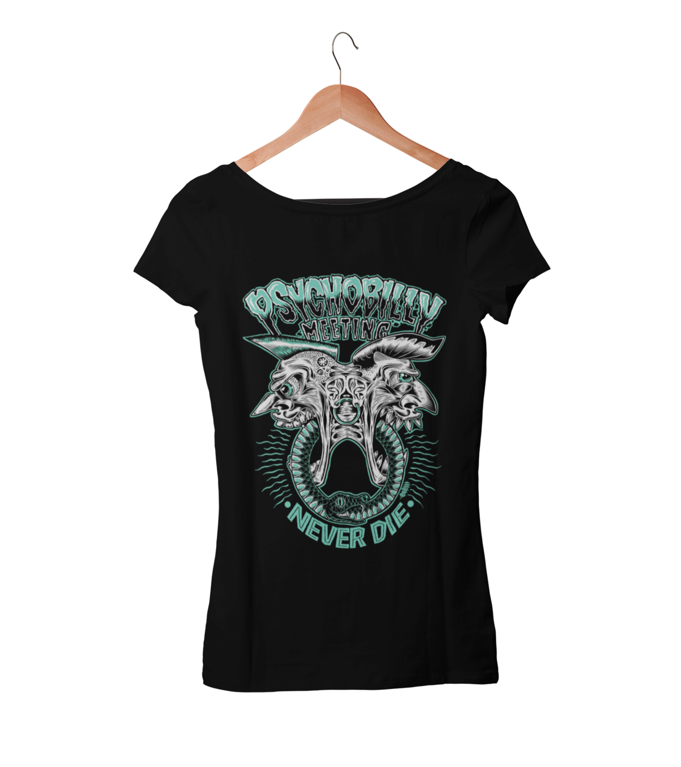 PSYCHOBILLY MEETING T-SHIRT WOMAN BY OLAFH
