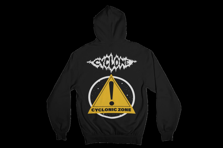 """CYCLONE """"CYCLONIC ZONE"""" HOODIE ZIP for MEN"""