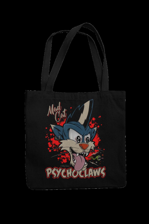 Cotton Bag Psycho Claws design by NANO BARBERO