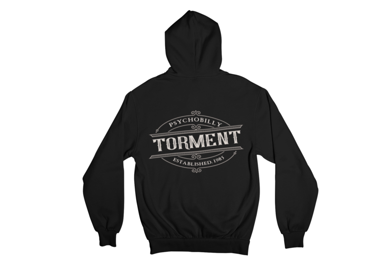 "TORMENT ""EST.1985"" HOODIE ZIP for WOMEN"
