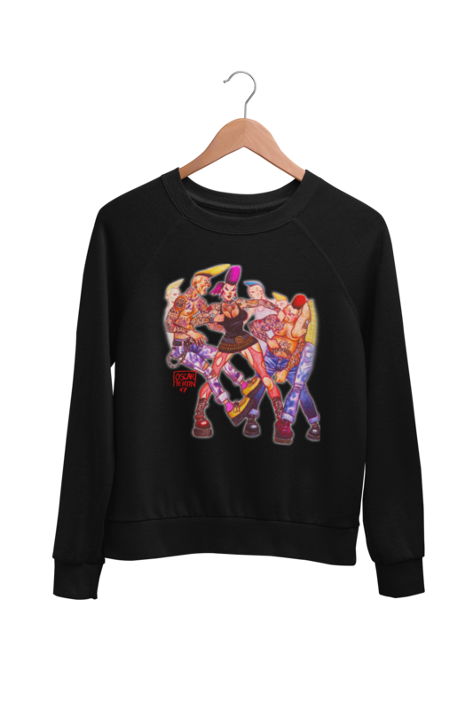 SHE´S THE MOST SWEATSHIRT UNISEX BY OSCAR HERTIN