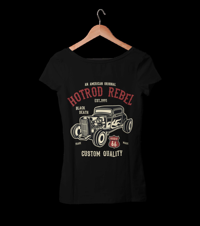 HOT ROD REBEL T-SHIRT FOR WOMEN