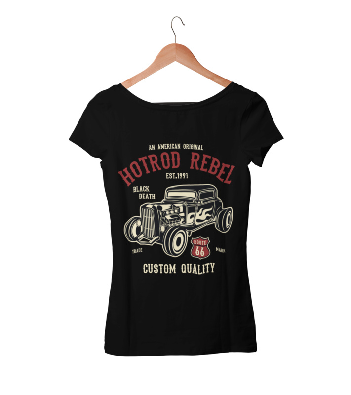 HOT ROD REBEL T-SHIRT FOR WOMEN