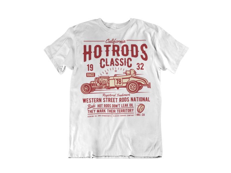 HOT ROD CLASSICS T-SHIRT FOR MEN