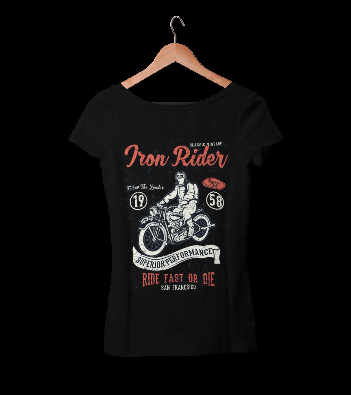 IRON RIDER T-SHIRT FOR WOMEN