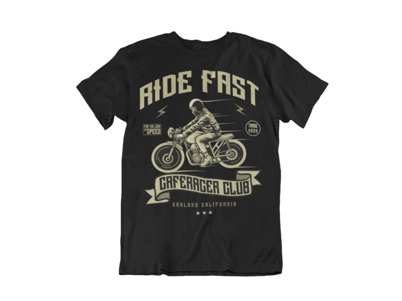 RIDE FAST T-SHIRT FOR MEN