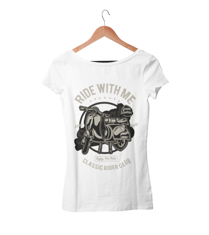 RIDE WITH ME T-SHIRT FOR WOMEN