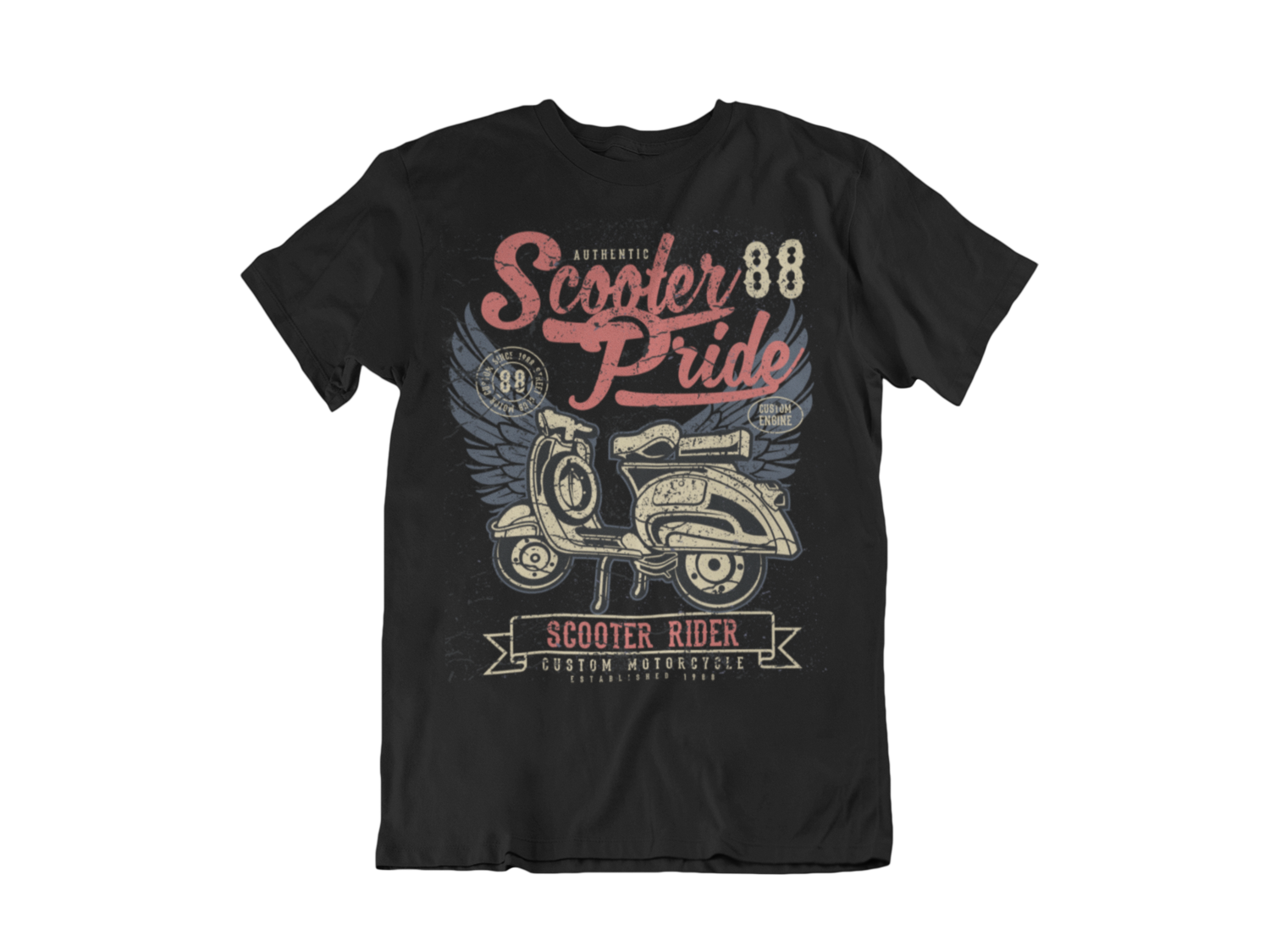 SCOOTER PRIDE T-SHIRT FOR MEN