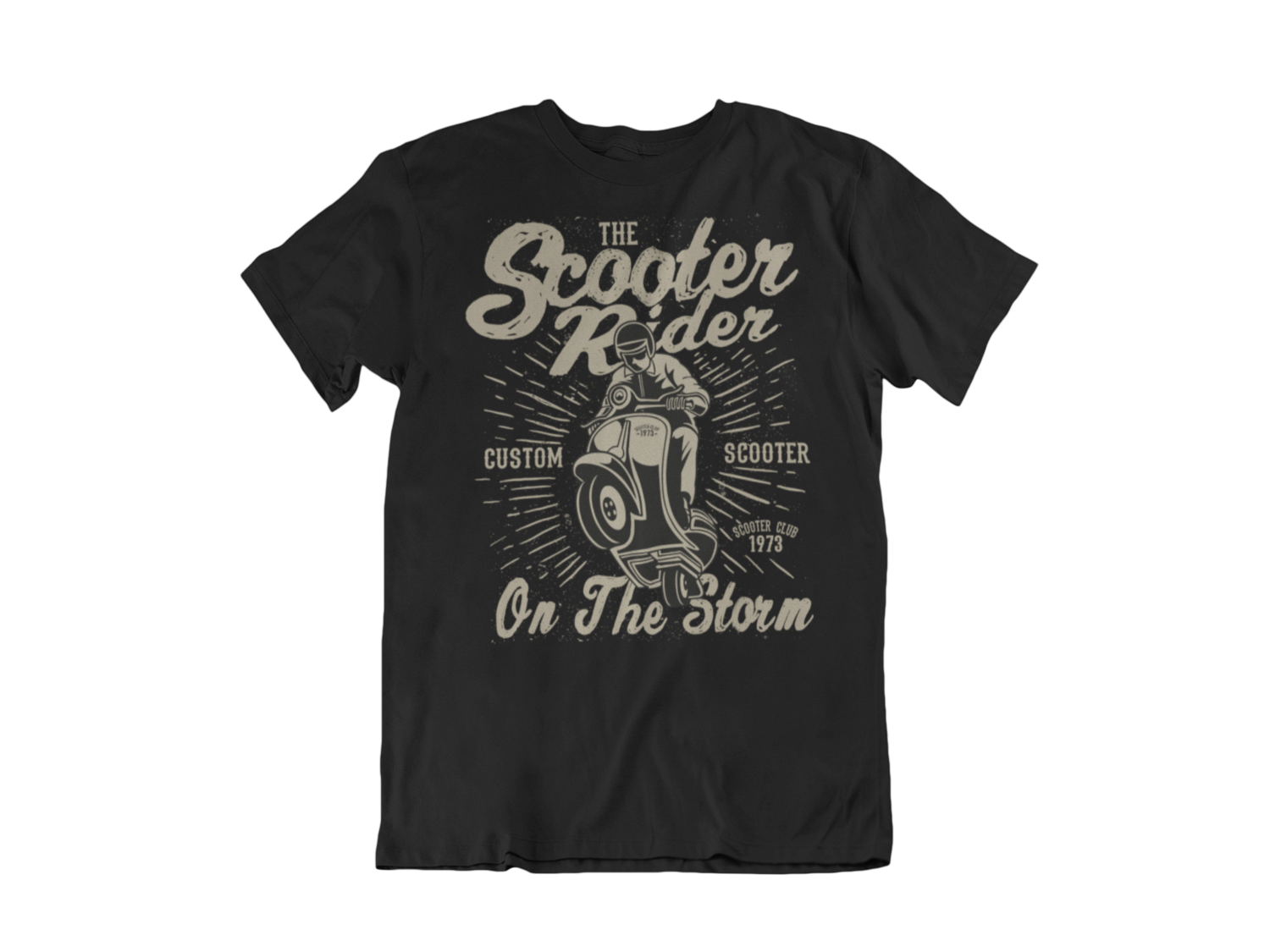 SCOOTER RIDER T-SHIRT FOR MEN