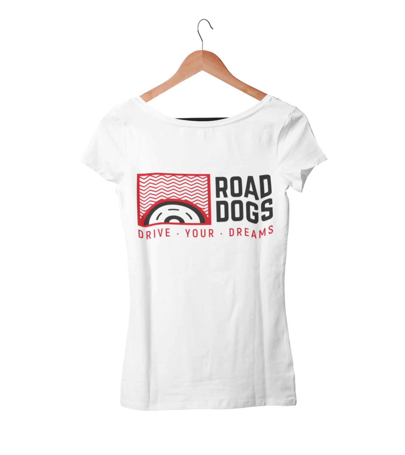 "ROAD DOGS ""Drive your dreams"" tshirt for WOMEN"