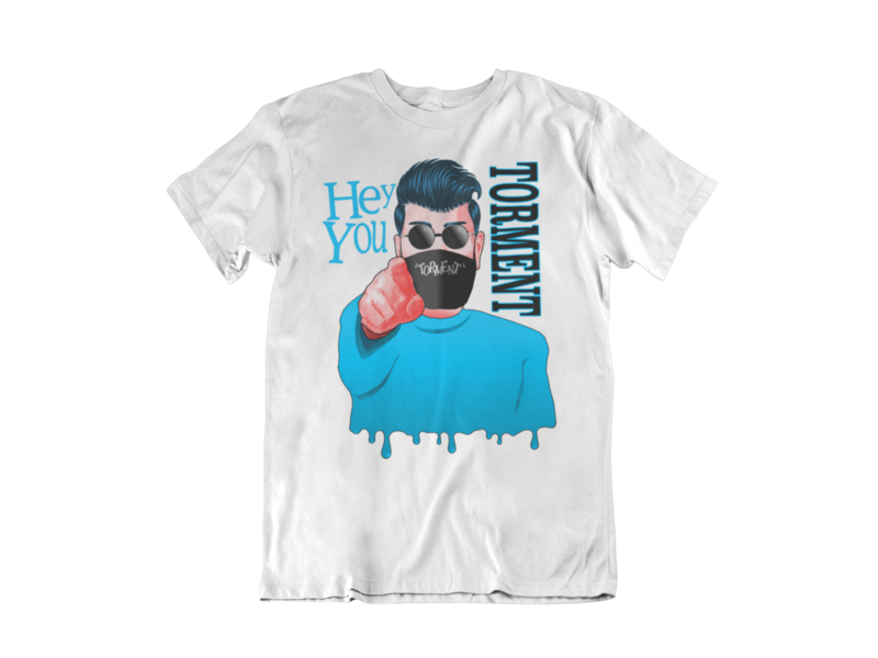 """TORMENT """"Hey you - Mask""""  tshirt for MEN"""