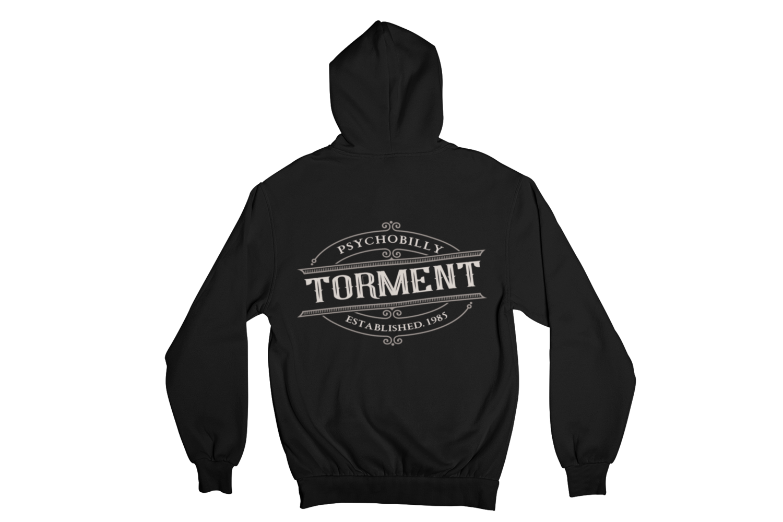 """TORMENT """"EST.1985"""" HOODIE ZIP for MEN"""