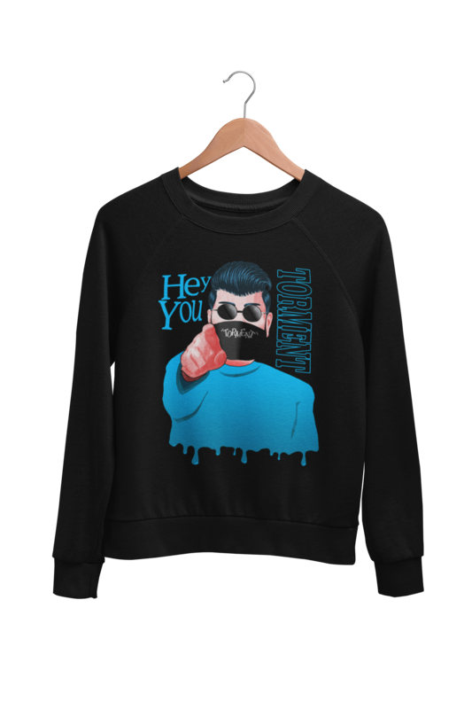 "TORMENT ""HEY YOU - MASK"" SWEATSHIRT UNISEX"