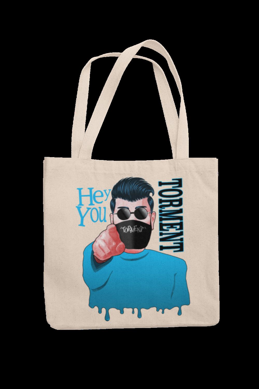 "TORMENT ""Hey you - mask"" Cotton Bag"