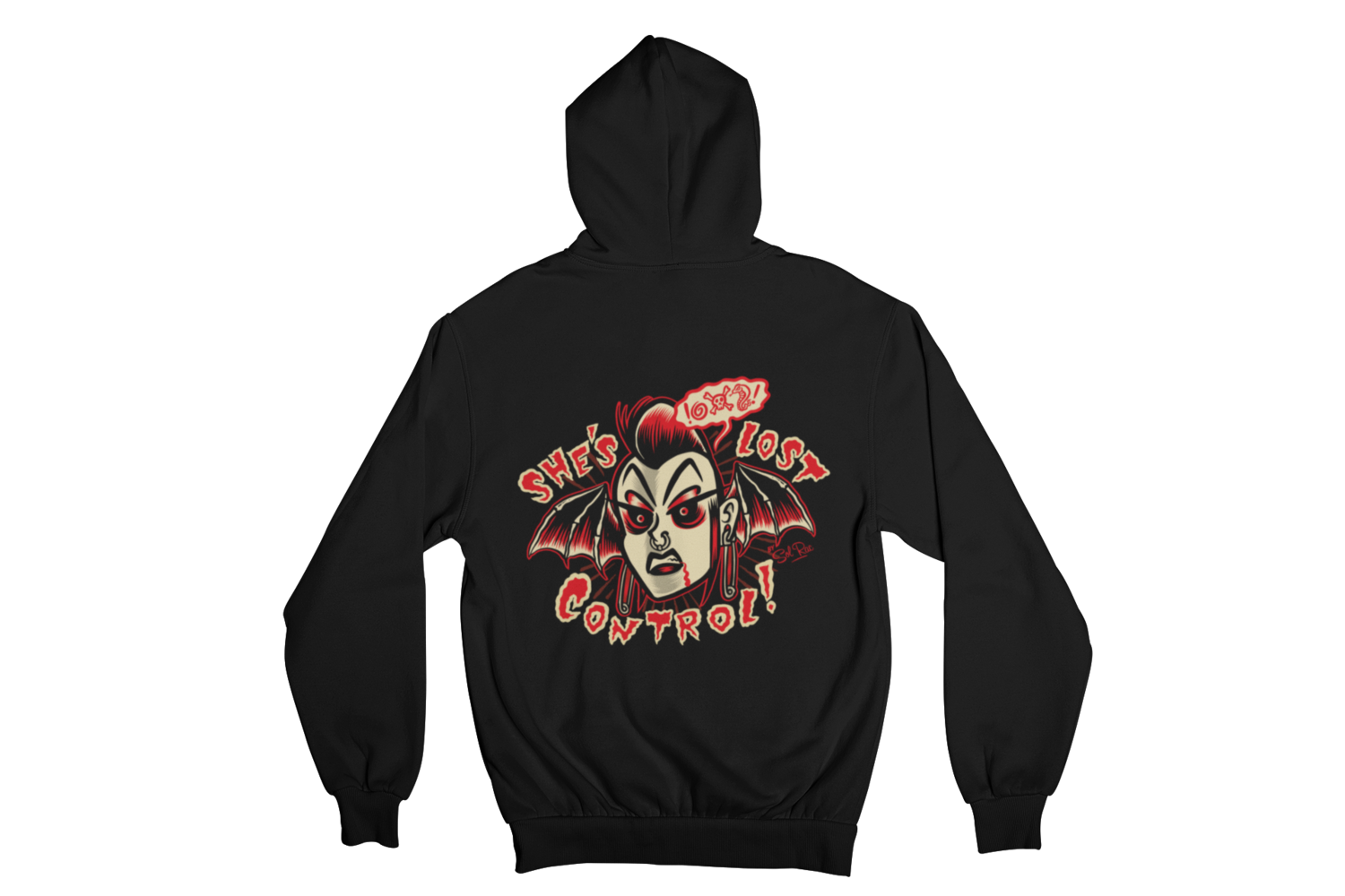 SHE´S LOST CONTROL HOODIE ZIP for MEN by SOL RAC