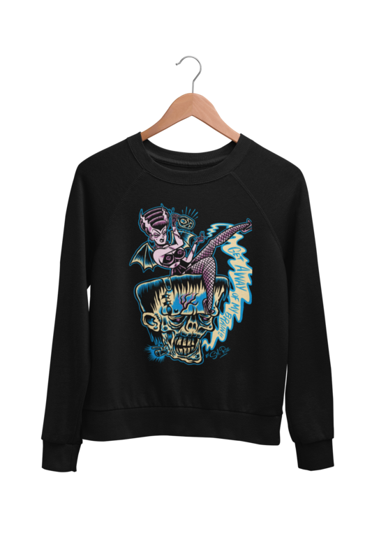 GET AWAY OF MY BRAIN SWEATSHIRT UNISEX by BY SOL RAC