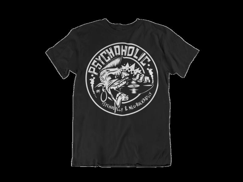 "PSYCHOHOLIC ""Olafh Logo"" tshirt for MEN"