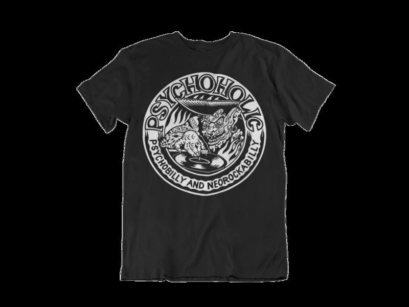 """PSYCHOHOLIC """"Paul Logo"""" tshirt for MEN"""