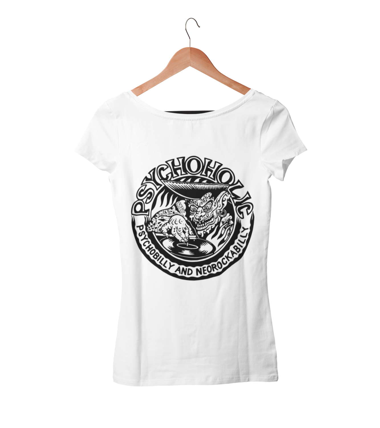 "PSYCHOHOLIC ""Paul Logo"" T-SHIRT WOMAN"
