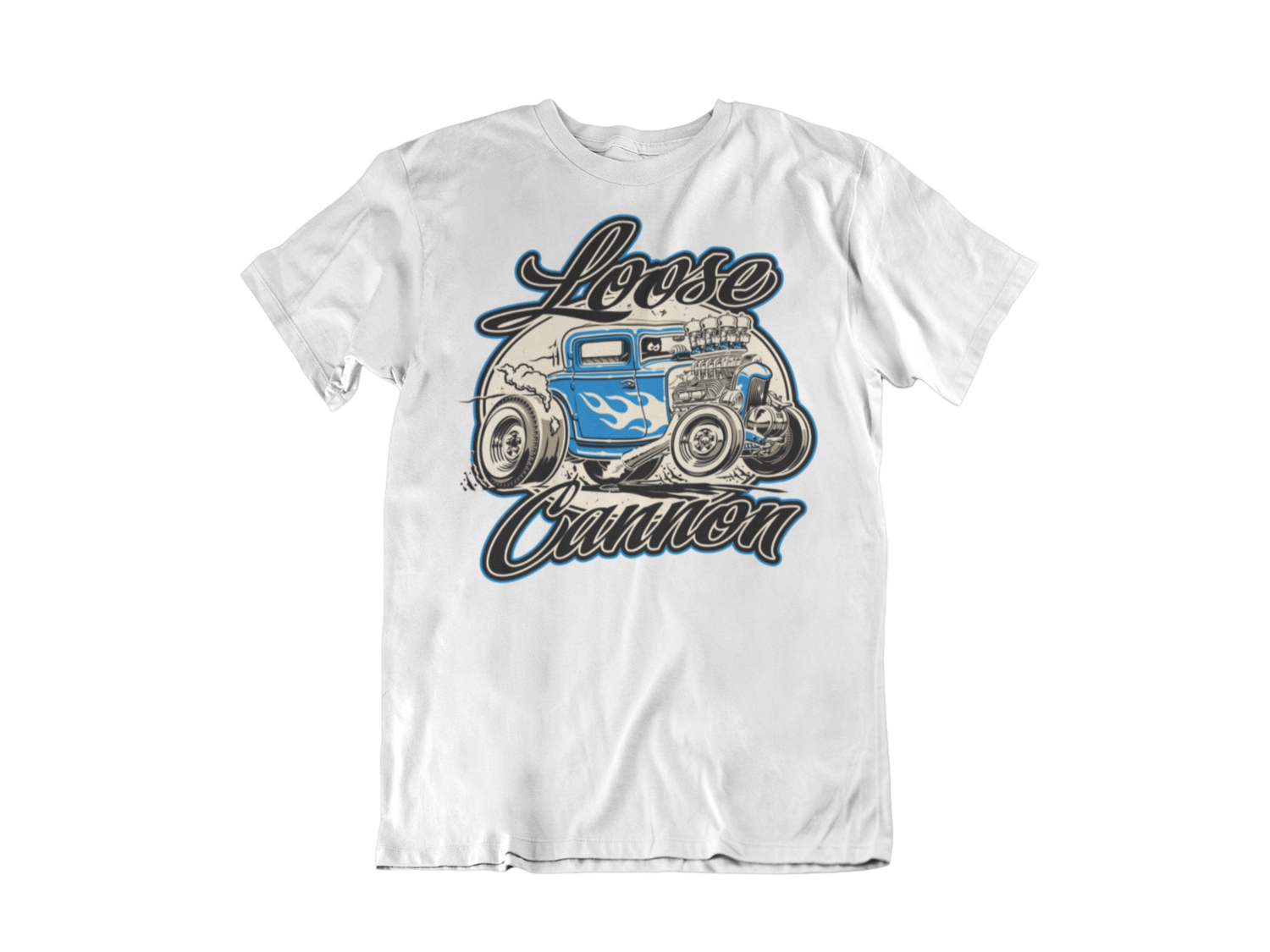 "LOOSE CANNON T-SHIRT MAN BY Ger ""Dutch Courage"" Peters artwork"