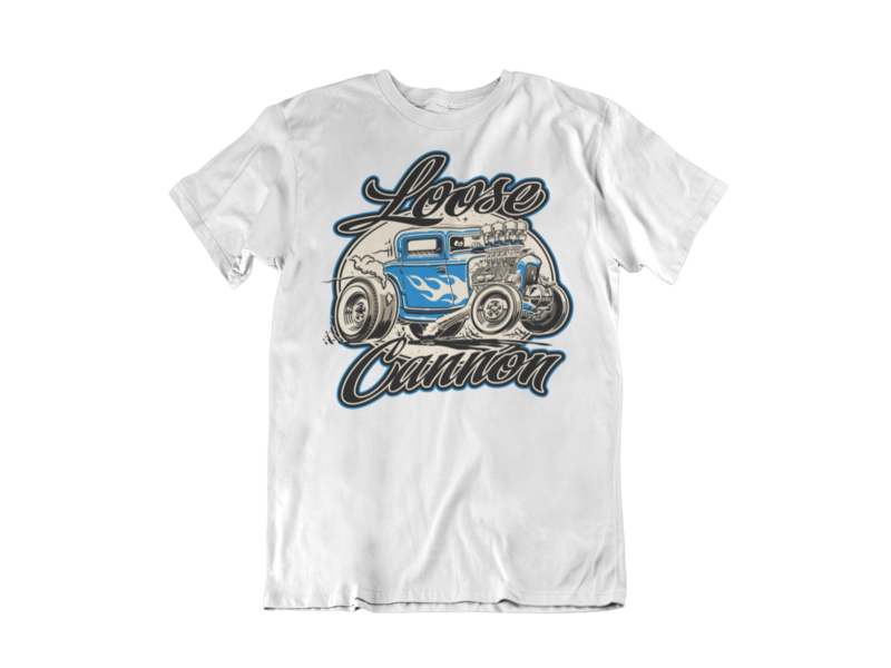 LOOSE CANNON T-SHIRT MAN BY Ger